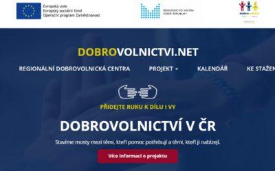 Ministerstvo vnitra spustilo nové webové stránky o dobrovolnictví