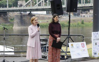 V Děčíně ocenili covidové dobrovolníky