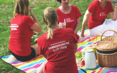 Národní asociace dobrovolnictví oslavila 20 let